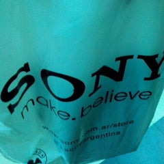 Photo taken at Sony Style Store by Cristian M. on 7/10/2014