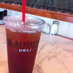 Photo taken at McAlister's Deli by Rita R. on 10/17/2012