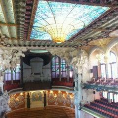 Foto tomada en Palau de la Música Catalana por izm2580fs el 5/1/2013