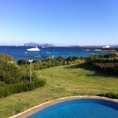 Photo taken at Hotel Romazzino, Costa Smeralda by Alana F. on 7/31/2013