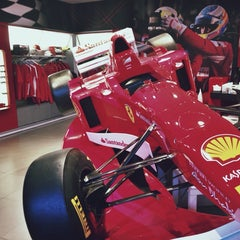 Photo taken at Ferrari Training Centre by ♚17♚ on 3/31/2014