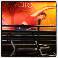 Photo taken at LA Fitness by Mike B. on 8/1/2013