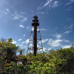 Photo taken at Sanibel Island Lighthouse by Tim S. on 1/19/2013
