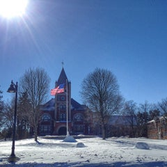 Photo taken at Thompson Hall by UNH Students on 2/17/2014