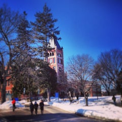Photo taken at Thompson Hall by UNH Students on 2/15/2013
