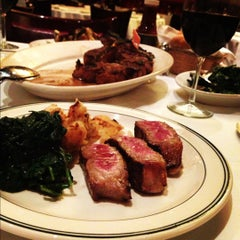 Photo taken at Wolfgang's Steakhouse by Stephen J. on 11/27/2012