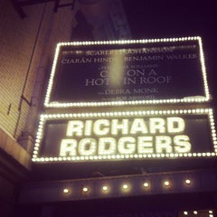 Photo taken at Richard Rodgers Theatre by Zachary S. on 2/10/2013