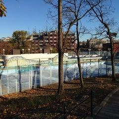 Photo taken at Marcus Garvey Park by Daniil M. on 11/13/2013