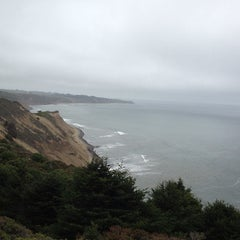 Photo taken at Point Reyes National Seashore - South Beach by Paulina on 7/29/2013