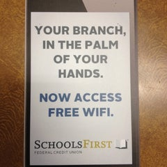 Photo taken at SchoolsFirst FCU Santa Ana Branch by Remo S. on 5/22/2013