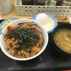 Photo taken at 松屋 高田馬場店 by aka l. on 8/3/2015