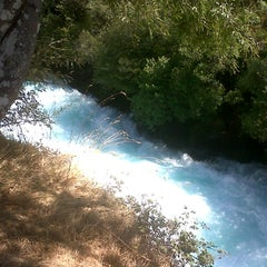 Photo taken at Huka Falls by Cik M. on 2/27/2013