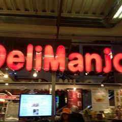 Photo taken at DeliManjoo by Eran B. on 1/6/2013