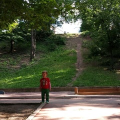Photo taken at Parcul Romniceanu by Bogdan D. on 6/22/2014
