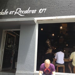 Photo taken at Lonsdale St. Roasters by James K. on 12/11/2012