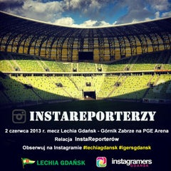Photo taken at PGE Arena Gdańsk by Igers G. on 5/31/2013