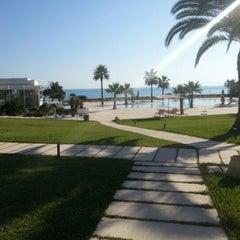 Photo taken at Mövenpick Hotel Gammarth Tunis by Scott L. on 11/4/2012