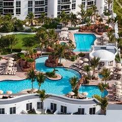 Photo taken at Trump International Beach Resort by Susan B. on 2/7/2013