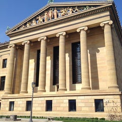 Photo taken at Philadelphia Museum of Art by Maeve D. on 4/24/2013
