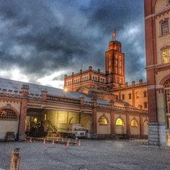 Photo taken at Feldschlösschen Brauerei by Marcus F. on 11/28/2014