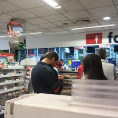 Photo taken at Farmacias Ahumada by Carlos Z. on 2/9/2014