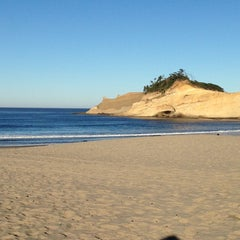 Photo taken at Pacific City, OR by Lacey on 10/4/2014