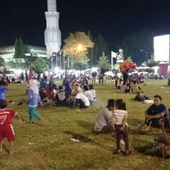 Photo taken at Alun - Alun Pati by Rossydi A. on 7/21/2015