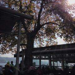 Photo taken at Emirgan Sütiş by Sener O. on 10/30/2013