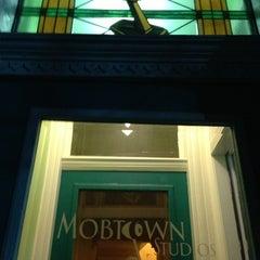 Photo taken at Mobtown Studios by Patrick M. on 2/22/2013