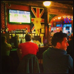 Photo taken at British Bulldog by Miraaj S. on 1/13/2013