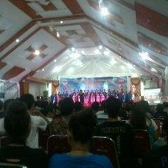 Photo taken at GMIM Getsemani Sario Kota Baru by Ryju M. on 10/19/2012