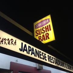 Photo taken at Sakura Japanese Restaurant by Karim on 2/19/2015