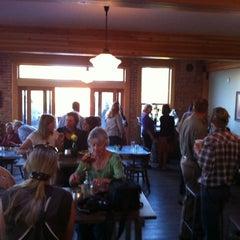 Photo taken at Gannett Grill by William R. on 10/1/2012