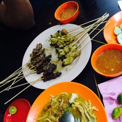 Photo taken at Satay Warisan by Pieja A. on 3/6/2016