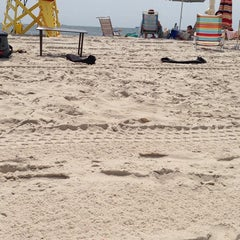 Photo taken at Civic Beach (Point Lookout) by danielle j. on 8/16/2014