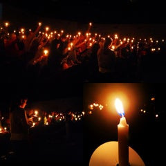 Photo taken at New Life Church by Sara D. on 12/25/2012