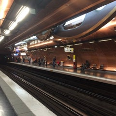 Photo taken at Métro Arts et Métiers [3,11] by Rob O. on 10/18/2015