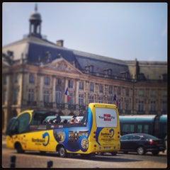 Photo taken at Cours Du Médoc by Polina K. on 7/12/2013