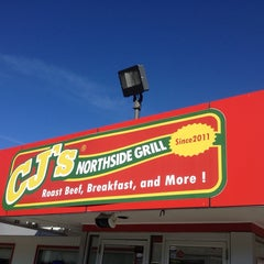 Photo taken at CJ's Northside Grill by Charlie P. on 12/28/2013