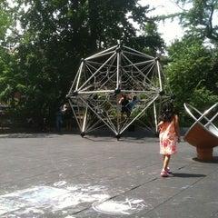 Photo taken at Vanderbilt Playground by Adam R. on 7/27/2013