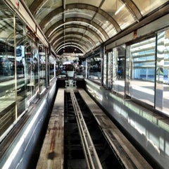 Photo taken at Tram To Gates 60-99 by James W. on 11/23/2012