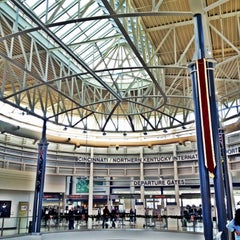 Photo taken at Cincinnati / Northern Kentucky International Airport (CVG) by James W. on 11/17/2012