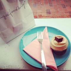Photo taken at Angel Food Bakery by Rachel C. on 1/21/2013