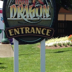 Photo taken at Iron Dragon by Robyn M. on 8/13/2014