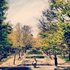 Photo taken at Fort Greene Park by Noah F. on 4/28/2013