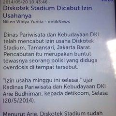 Photo taken at Stadium Jakarta by TJ on 5/20/2014