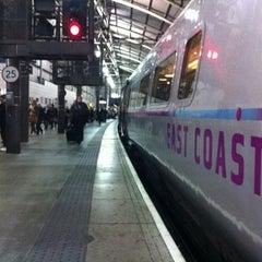 Photo taken at Platform 8 by James Arthur C. on 10/3/2012