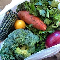 Photo taken at Corona Greenmarket by Ashley W. on 11/14/2014