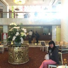 Photo taken at Pornping Tower Hotel by Kantaleeyar T. on 12/7/2015