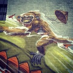 Photo taken at East Atlanta Village by John M. on 12/8/2012
